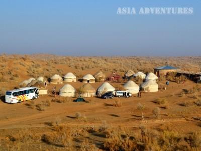 Yurt camp Safari