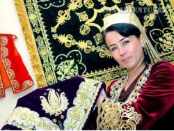 Золотое шитьё Узбекистана