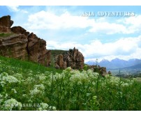 Along natural reserves and national parks of Uzbekistan