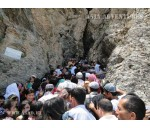 Sightseeing in Hozrat-Daud cave