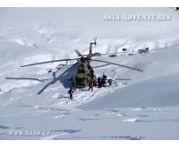 Хелиски в Кыргызстане (Западный Тянь-Шань)
