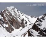 Energy Peak (5120 m) and Zamok Peak (5070 m)