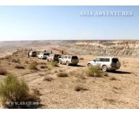 Джиппинг в Туркменистане. Через пески Каракумов и горы Копетдага к Каспийскому морю