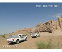 On Jeeps to Aral Sea through Kyzyl-kums
