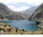 15 Lakes in the Fann Mountains