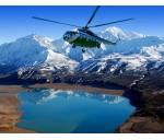 На вертолете в небесные горы