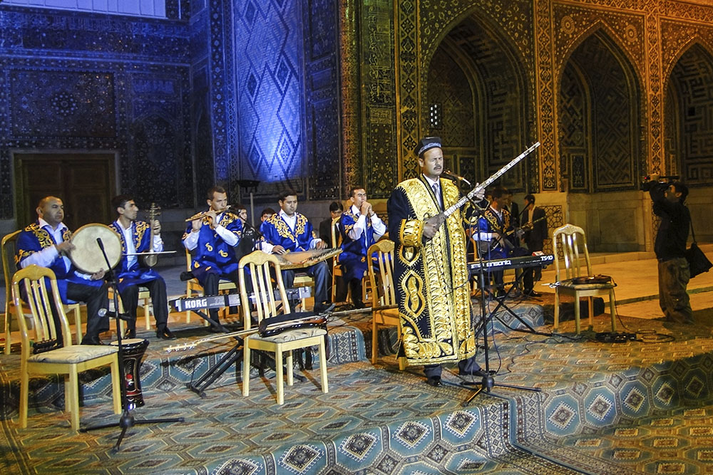 The Shark Taronlari (Melodies of east), Samarkand
