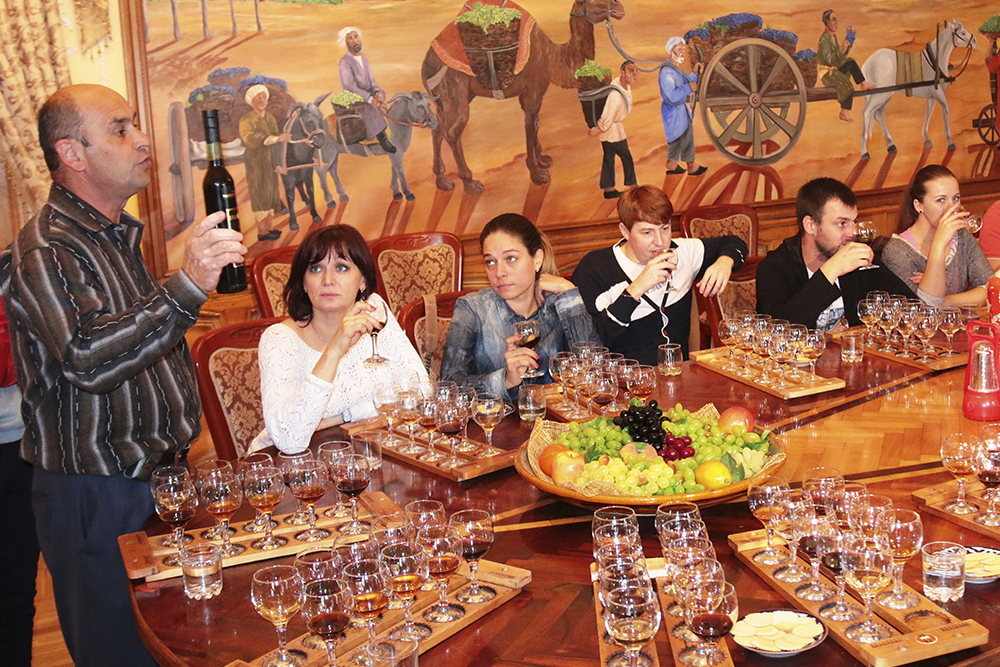 The Sampling of Samarkand Wines