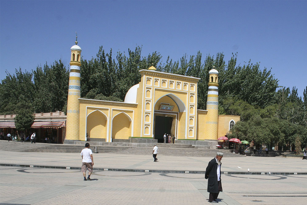 Along the Silk Road to Kashgar