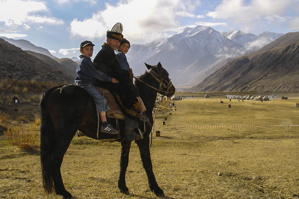 All Kyrgyzstan. The country of nomads and sky mountains